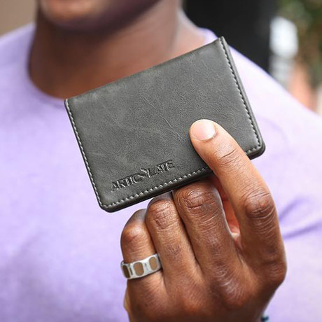 Card Holder // Charcoal