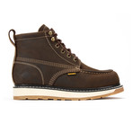 Dual Density Moc Toe Work Boot // Crazy Brown (US: 9)