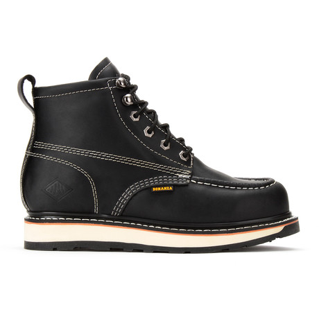 Steel-Toe Dual Density Work Boot // Black (US: 5)