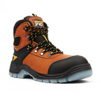 Steel-Toe Pro Series Work Boots + Toe-Guard // Brown (US: 6.5)