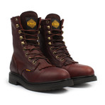 Steel-Toe Lacer Boots // Brown (US: 5)