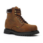 Steel-Toe Classic Work Boots // Brown (US: 9)