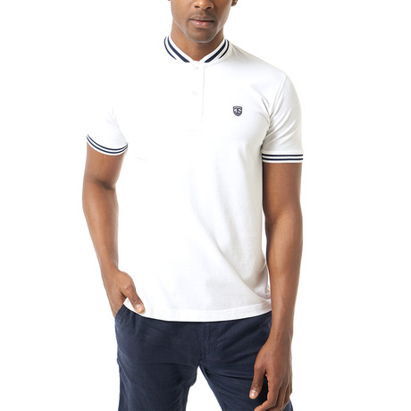 Beckham Short-Sleeve Polo // White (XS)