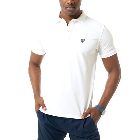 Hamza Short-Sleeve Polo // White (XS)