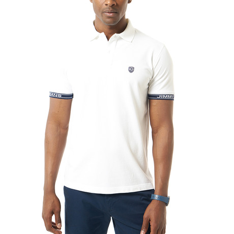 Isaias Short-Sleeve Polo // White (XS)