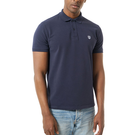 Keon Short-Sleeve Polo // Navy (XS)