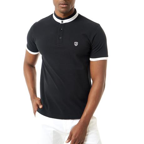 Sullivan Short-Sleeve Polo // Black (XS)