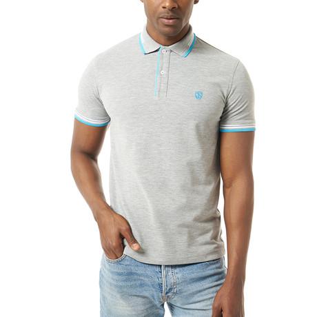 Stanley Short-Sleeve Polo // Gray Melange (XS)