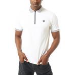 River Short Sleeve Polo // White (L)