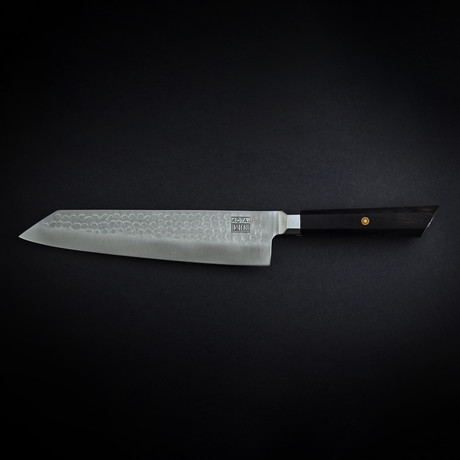 "Kotai Kiritsuke // 8"" Chef Knife // Hammered Blade"