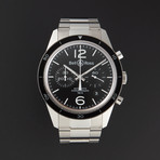 Bell & Ross Vintage Chronograph Automatic // BRV126-BL-BE/SST // Unworn