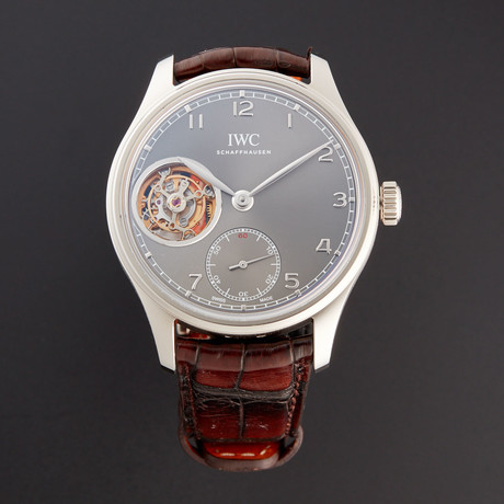 IWC Portugieser Tourbillon Manual Wind // IW546301 // New