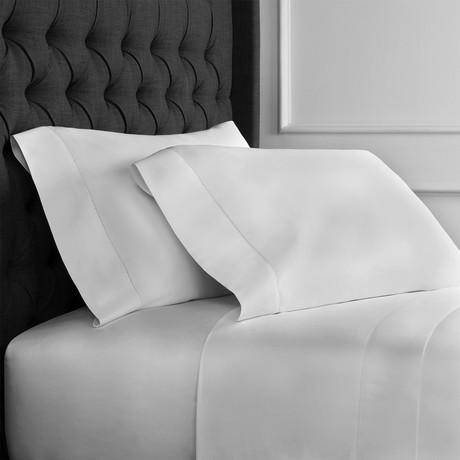 T400 Hems Supima Cotton Sheet Set // Light Gray (King)