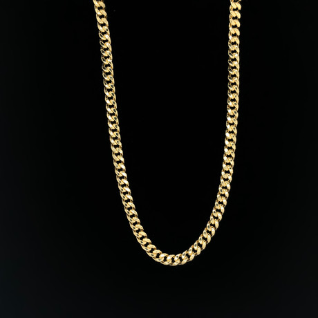 "6.0mm Miami Cuban Chain Necklace // 14K Yellow Gold (18"")"