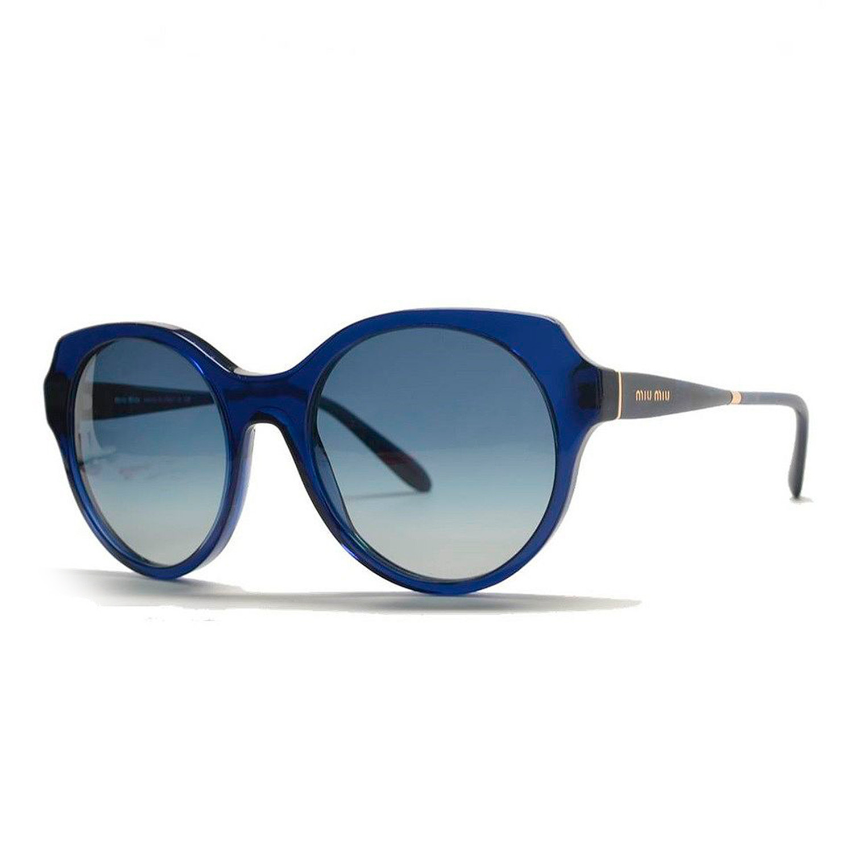 Women's Round Miu Women's Round Sunglasses Blue Miu u1TlKFJ5c3