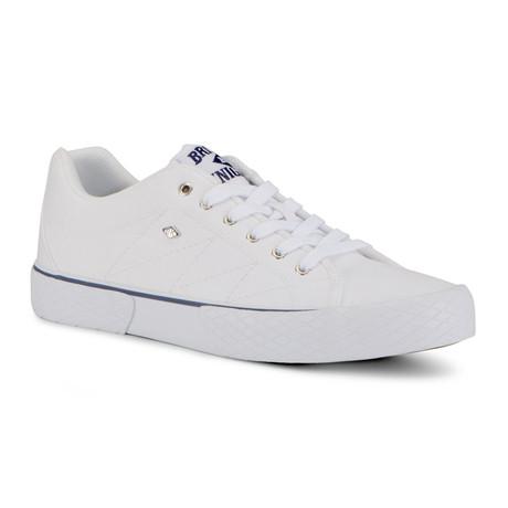 Vulture 2 Sneaker // White + Navy + Gum (US: 7)