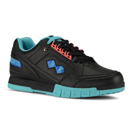 Metros Sneaker // Black + Teal + Blue (US: 7)