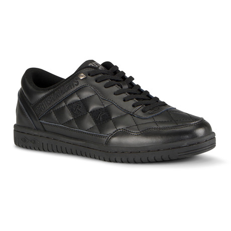 Quilts Sneaker // Black (US: 7)