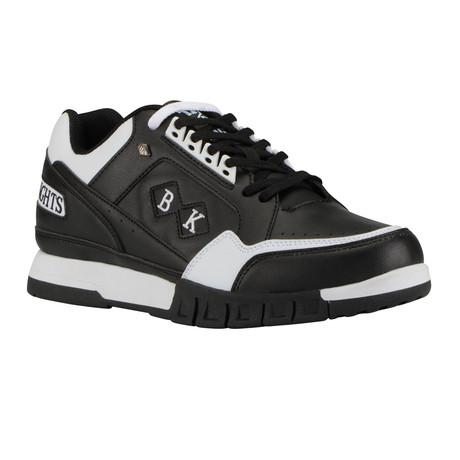 Metros Sneaker // Black + White (US: 7)