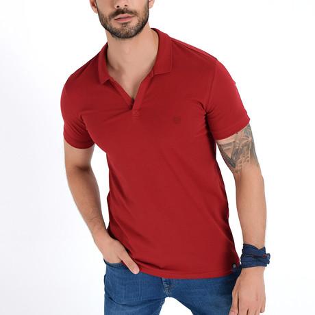 Polo Shirt // Burgundy (S)