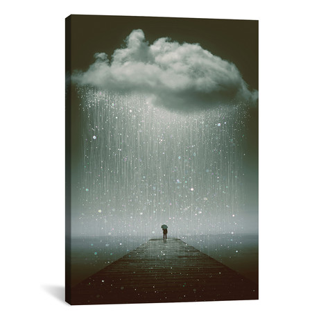"""Even The Sky Cries // Soaring Anchor Designs (18""""W x 26""""H x 0.75""""D)"""