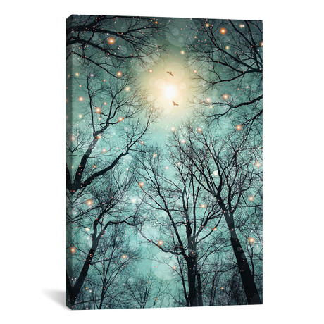 """Mint Embers - Trees // Soaring Anchor Designs (18""""W x 26""""H x 0.75""""D)"""