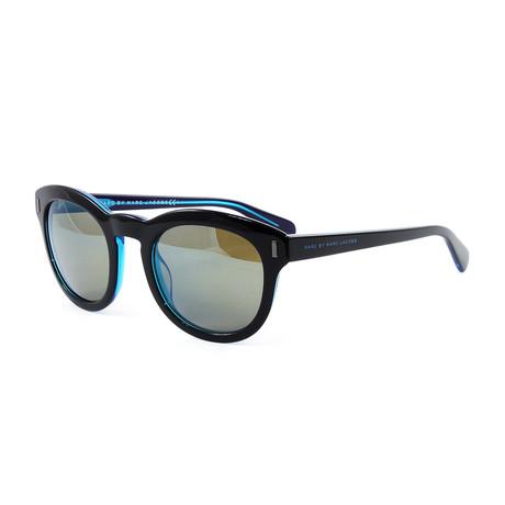 Men's J433S Sunglasses // Black + Blue