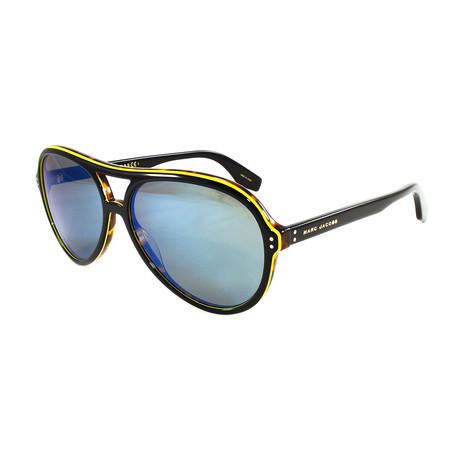 Men's 392S Sunglasses // Black + Havana