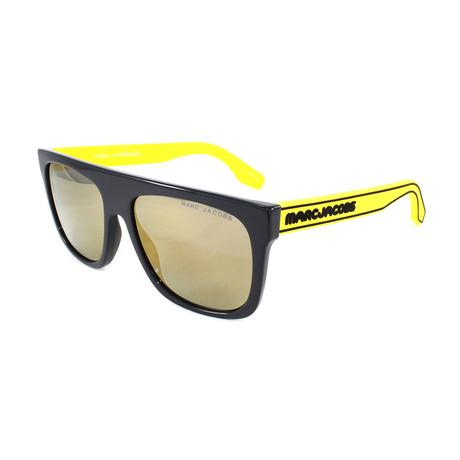 Men's 357S Sunglasses // Gray + Yellow