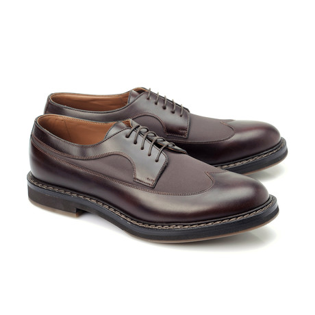 Diego Leather Derby Shoe // Brown (Euro: 39)