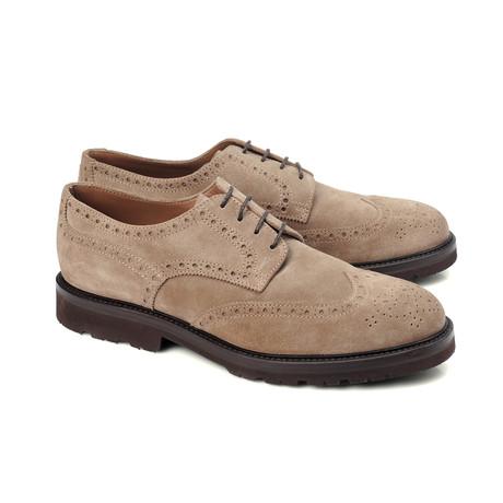 Luca Derby Shoe // Tan (Euro: 39)