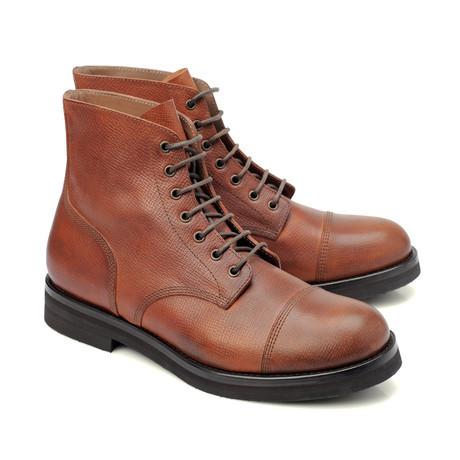 Francis Leather Lace-Up Shoe // Cognac (Euro: 39)