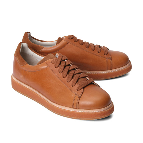 Leather Sneaker // Brown (Euro: 39)