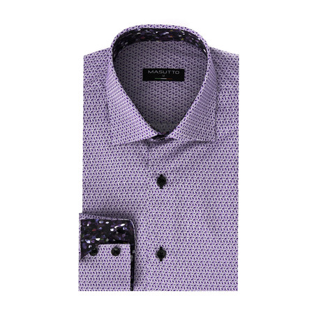 Panther Dress Shirt // Purple (XS)