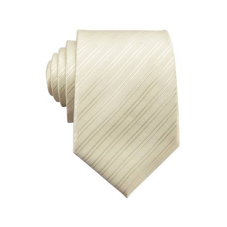 Maria Silk Dress Tie // Ivory