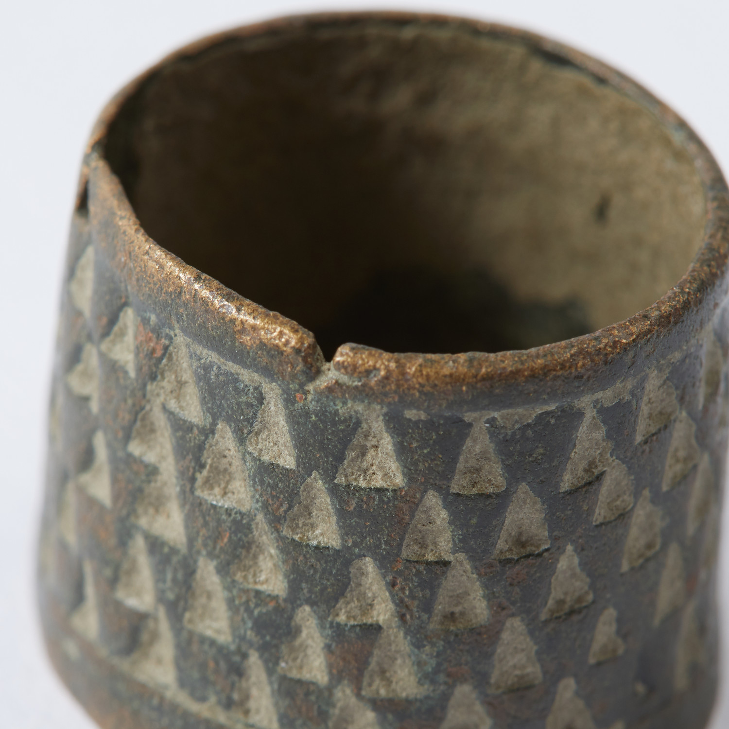 Medieval Sewing Thimble // 9th-14th Century - Ancient