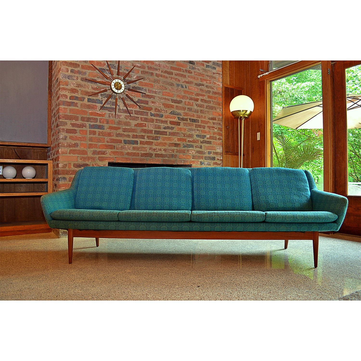 1960s Danish Sofa By L H Hielle