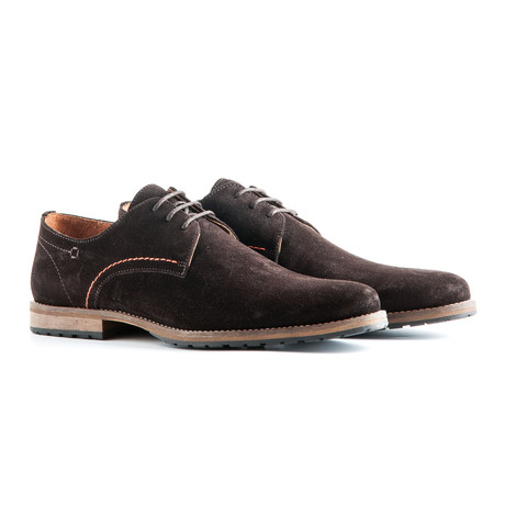 Manchester Suede // Dark Brown (Euro: 40)
