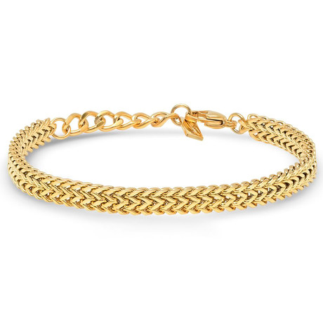 Komodo Bracelet // Gold Tone