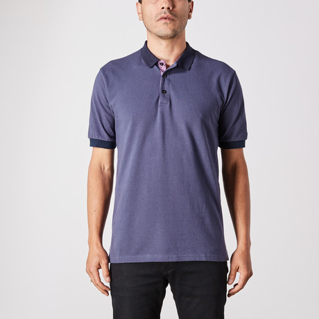 Steven Polo Button Up // Royal Blue (Small)