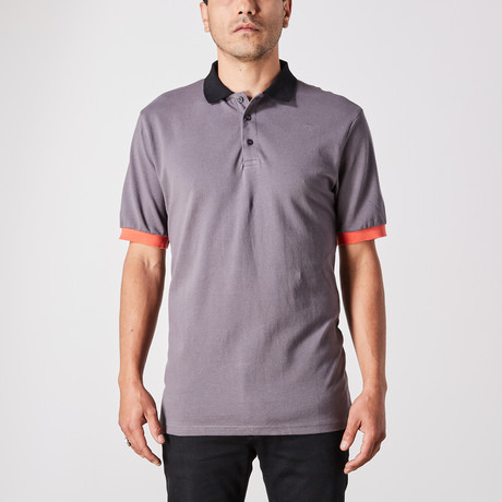 Daniel Polo Button Up // Gray (Small)