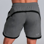 Contender Shorts // Pewter (L)