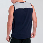 Latitude Tank // Deep Navy (XL)