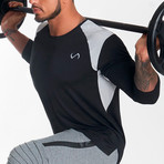 Nexus Performance Modal 3/4 Sleeve Shirt // Black (S)