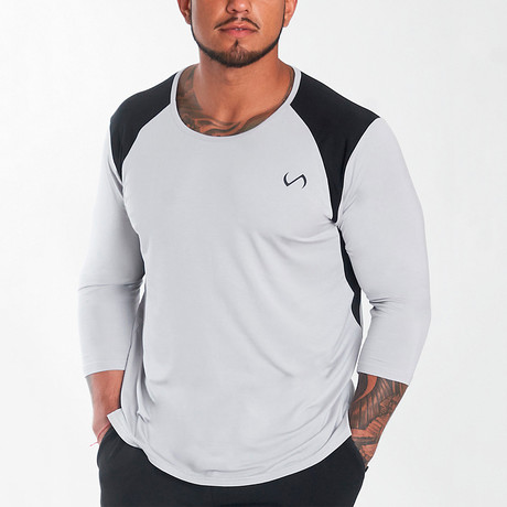 Nexus Performance Modal 3/4 Sleeve Shirt // White (S)