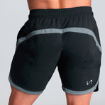 Contender Shorts // Black (M)
