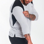 Nexus Performance Modal 3/4 Sleeve Shirt // White (M)