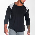 Nexus Performance Modal 3/4 Sleeve Shirt // Black (XL)