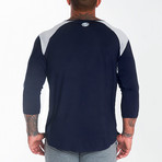 Nexus Performance Modal 3/4 Sleeve Shirt // Deep Navy (2XL)