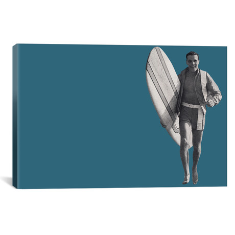 "Surfer Dude by Hemingway Design (26""W x 18""H x 0.75""D)"